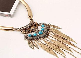 vintage boho pendant