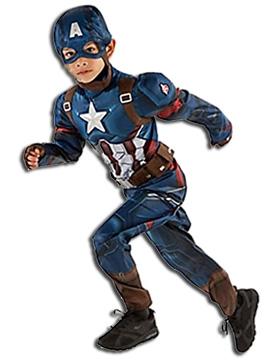 Boys Captain America Halloween Costume