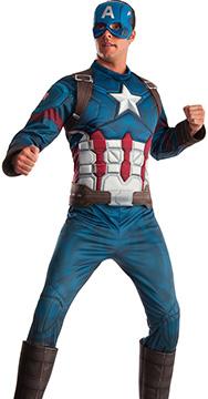 Men's Captain America Halloween Costume
