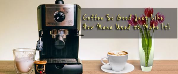 delonghi espresso cappuccino machine review