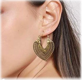 cute bohemian earrings set