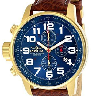 invicta lefty watches