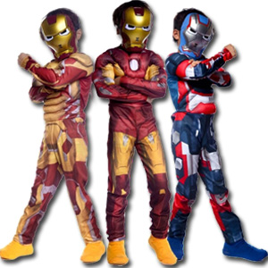 iron man halloween costume for boys