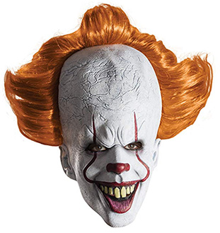 pennywise halloween mask