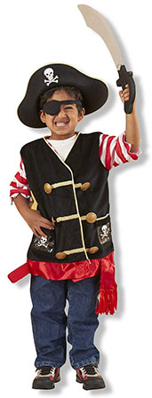 Boys Pirate Halloween Costume