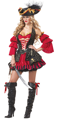 Pirate Halloween costume women