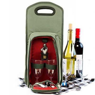 Insulated Wine Tot Bag