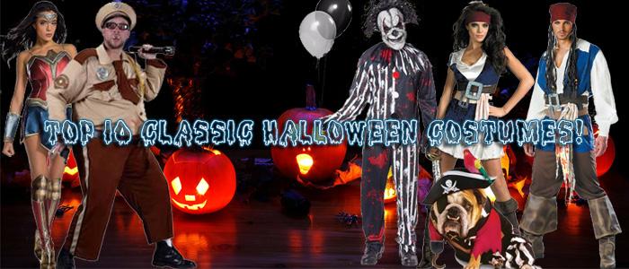 Top 10 Classic Halloween Costumes